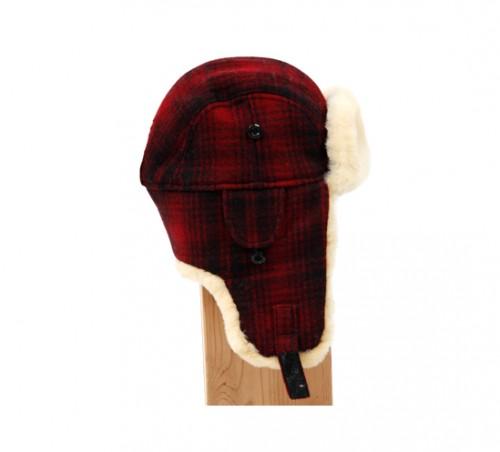 woolrich real fur hat side