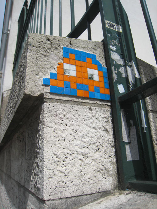 space invader « fancy seeing you here